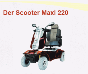 Der Scooter Maxi 220