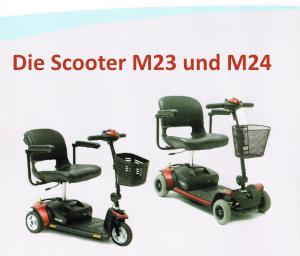 Die Scooter M23 und M24