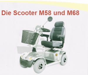 Die Scooter M58 und M68