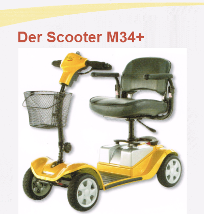 Der Scooter M34+