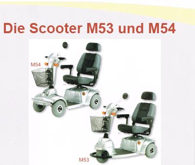 Scooter M53 und M 54